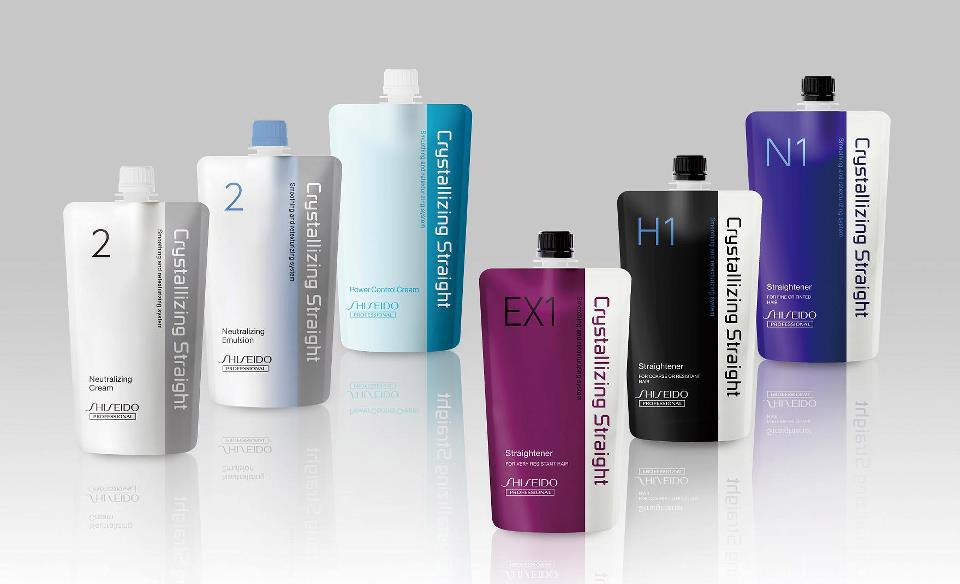 Alisado japonés. Producto de la marca Shiseido.