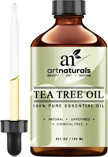 aceite de árbol de te para la caspa
