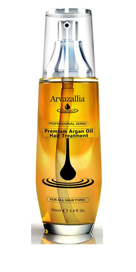 tratamiento con aceite para el pelo