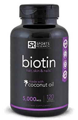 vitamina para la caida del cabello