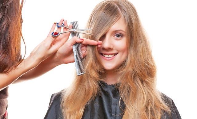 corte de pelo antes del alisado