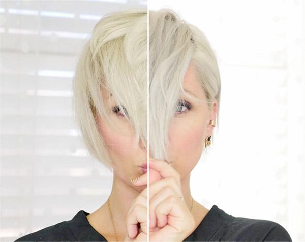 shampoo morado para el cabello rubio