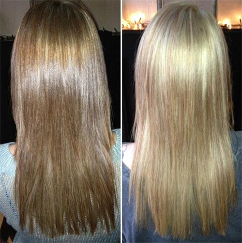 resultados del shampoo