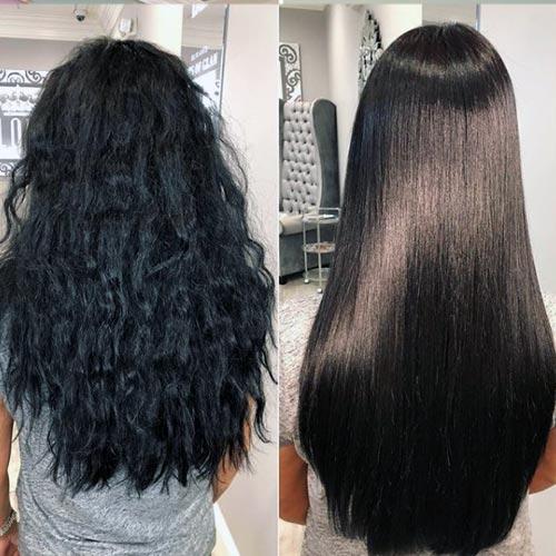 relaja el cabello