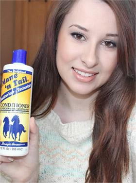 shampoo de caballo