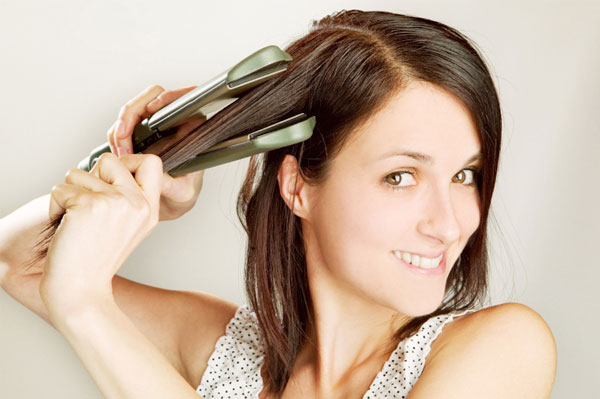 iron to fix keratin
