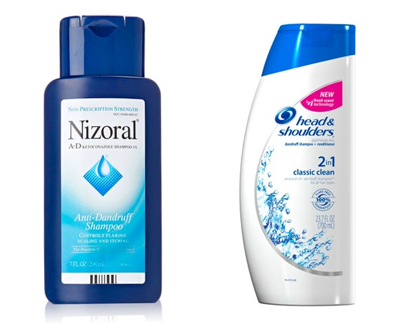 shampoo para eliminar la caspa