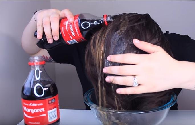 de lavar el pelo con coca