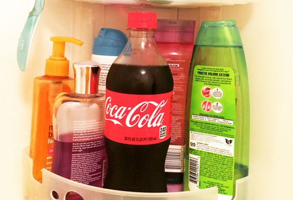 Coca para lavar el pelo
