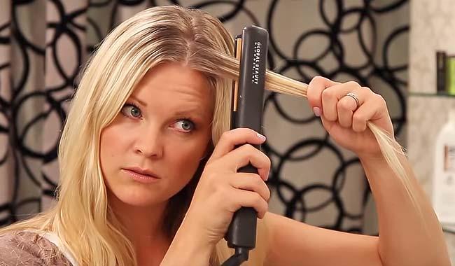 planchar el pelo sin aparatos electricos