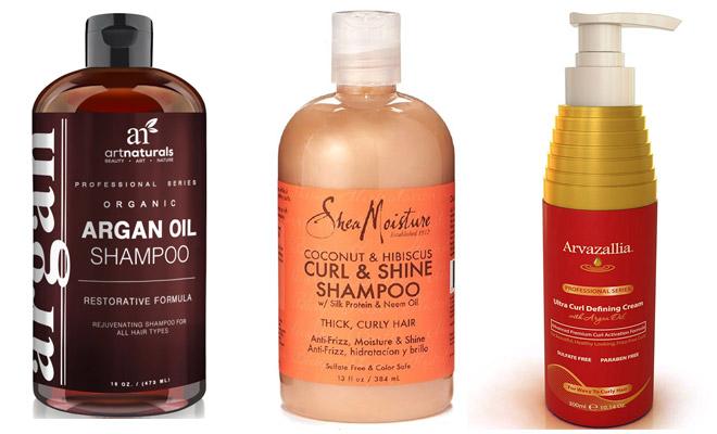 Shampoo para pelo rizado