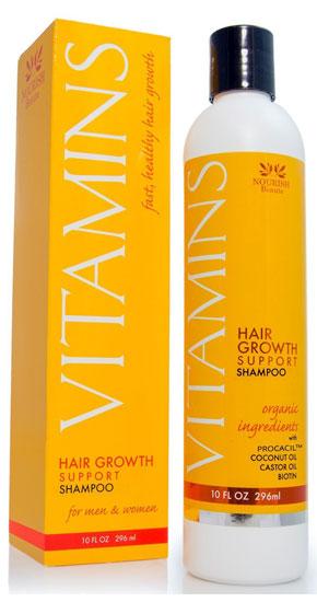 shampoo con aceites naturales y biotina