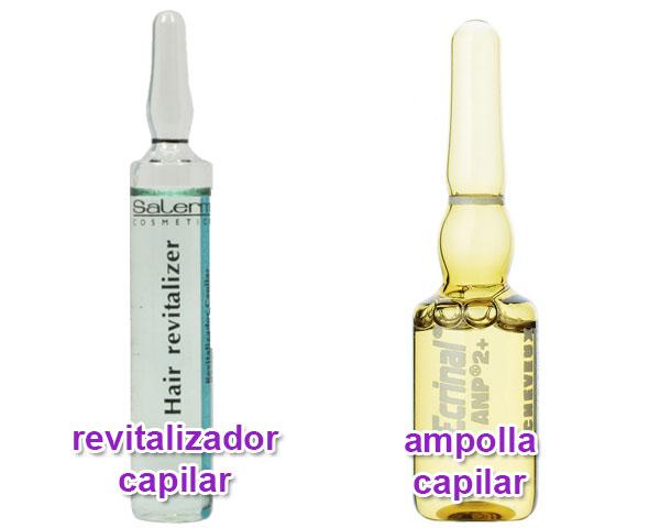 composición de los productos