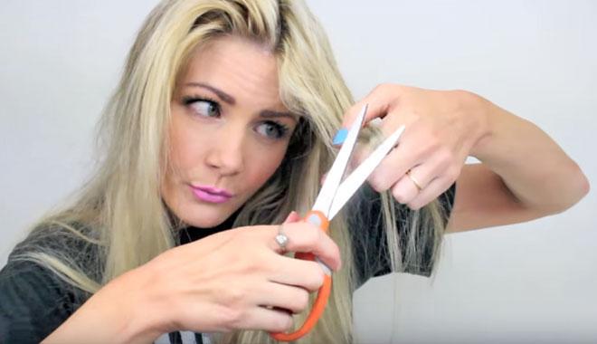 para reparar el pelo decolorado