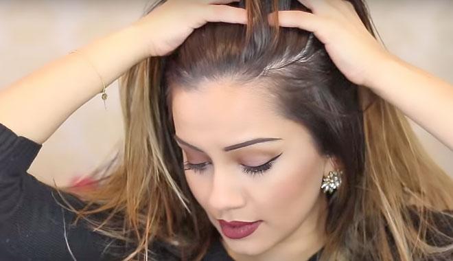 ayuda a quitar lo pegajoso del pelo