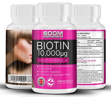 vitamina para el crecimiento del pelo