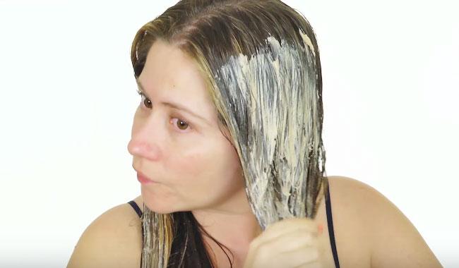 para no dañar el pelo