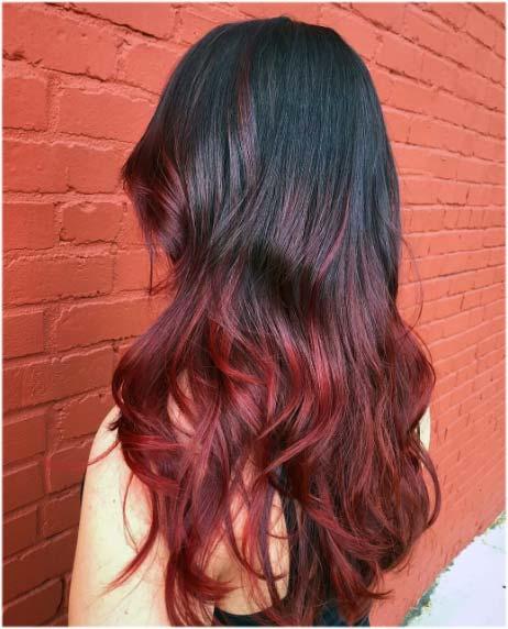 Color de rayitos para el cabello según tu forma de rostro