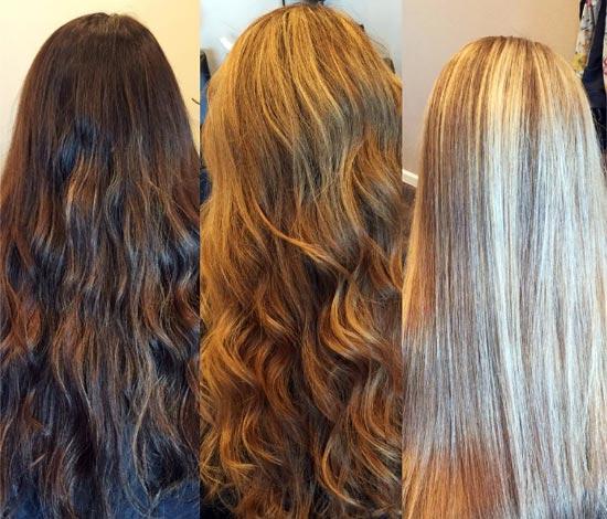 la decoloracion es para aclarar el pelo