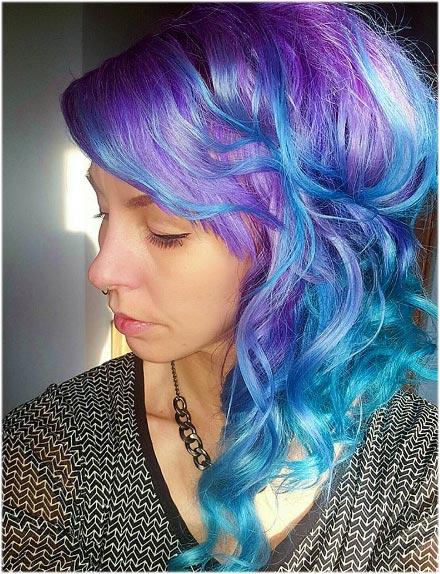 por colores fantasías como los azules