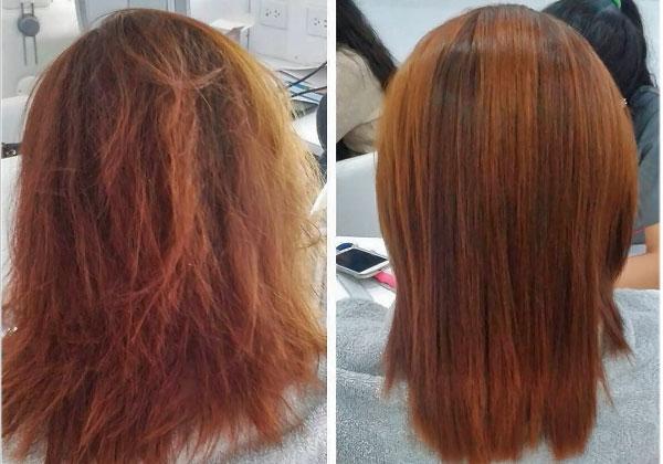 tratamiento para alisar el pelo