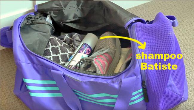 en un bolso, mochila o cartera