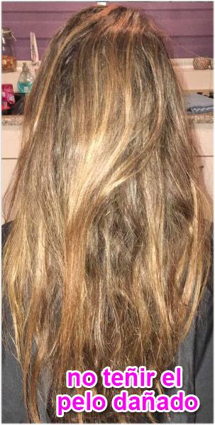 el pelo tiene que estar sano