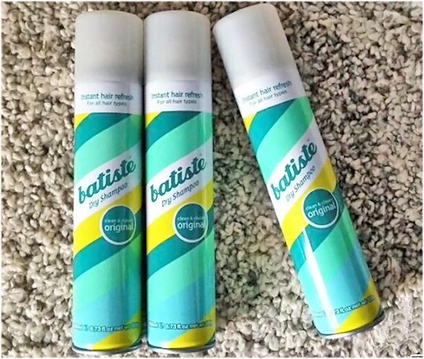 Shampoo seco cabello graso