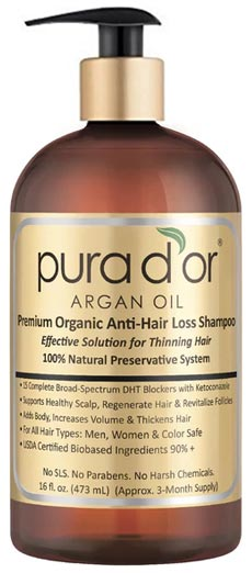 no chemicals shampoo
