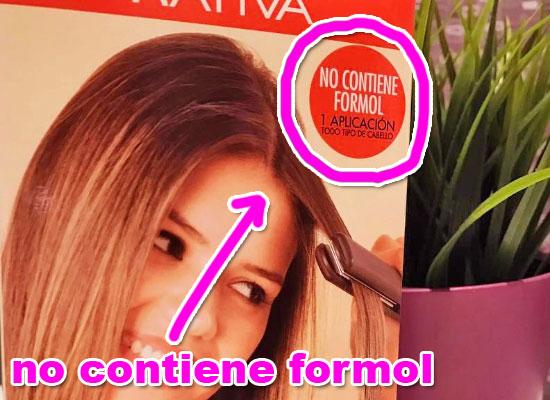 no contiene químicos agresivos para el cabello