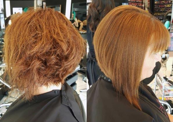 shampoo preparador, tratamiento y mascarilla post alisado