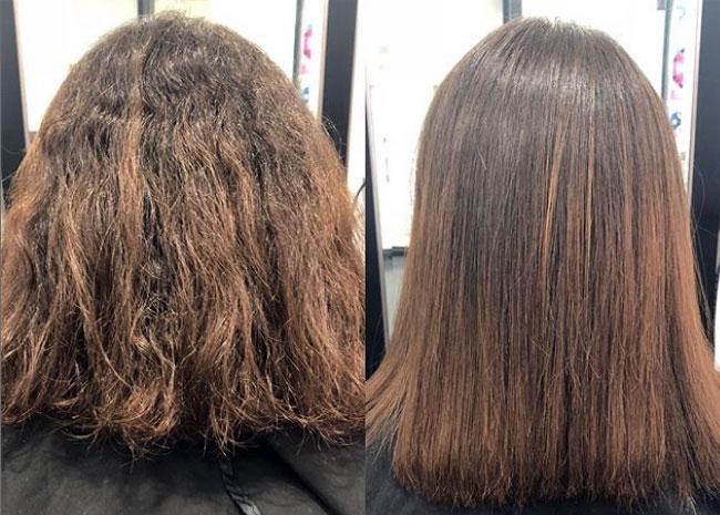 pelo liso y mas brilloso