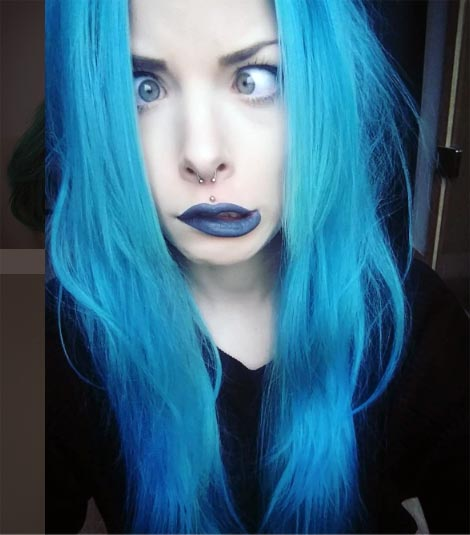 moda de pelo fantasia