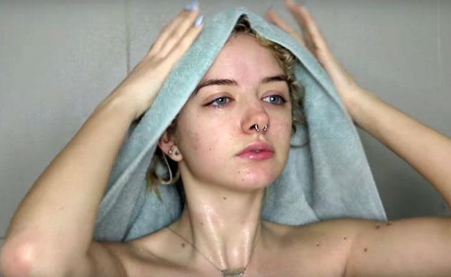 para no traspasar humedad al cabello