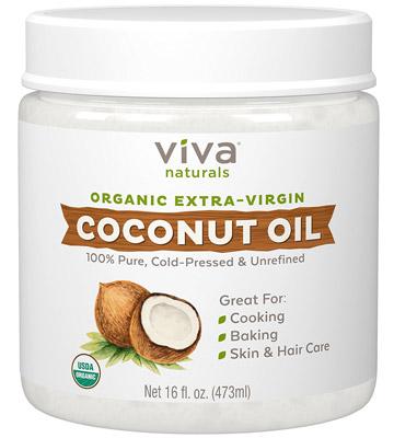 El aceite del nuez de coco para los cabellos del precio
