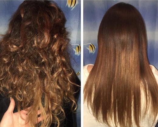 varían según el estado del cabello al aplicar el tratamiento