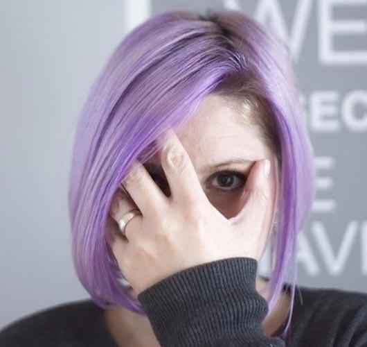 lila y violeta