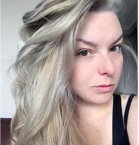 Fotos de color de pelo rubio ceniza