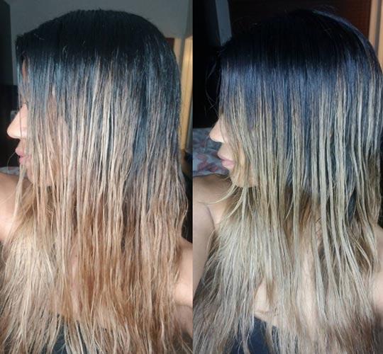 matizar en casa con shampoo