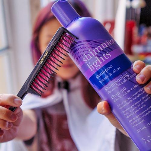 para neutralizar los cabellos amarillos
