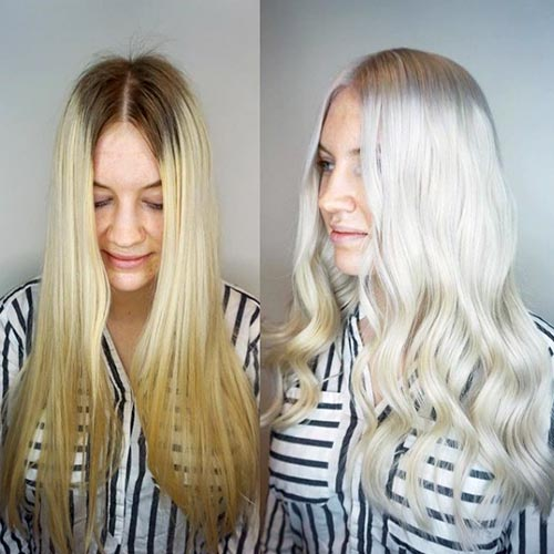 Can you get your hair white/gray without bleach or dye?