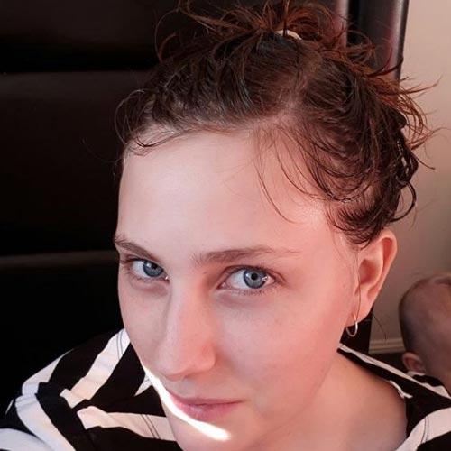 aceite de coco antes de decolorar el pelo