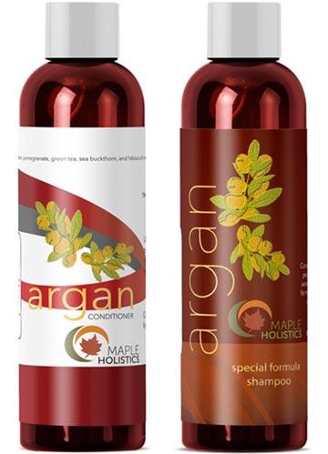 en base a aceite de argan