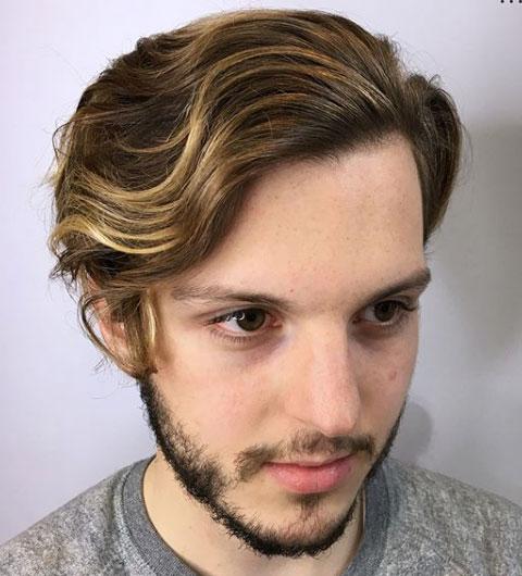 barba semi crecida