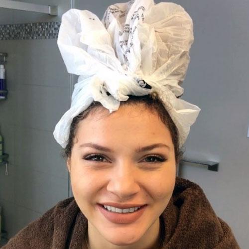 hidrata su cabello con aceite de coco