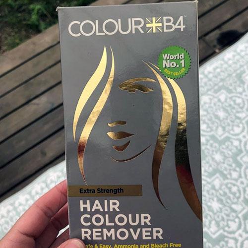 eliminar tintes fantasía del pelo