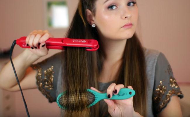 proteger el pelo para evitar puntas abiertas