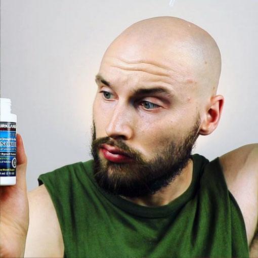 efectos adversos en barba