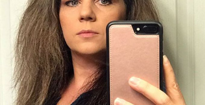 selfie frente al espejo