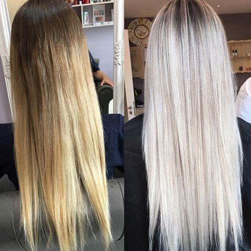 25 minutos en el cabello